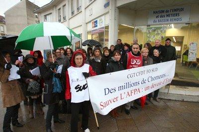 manifestation 17 12 CH ARD Reims